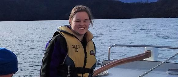 Lizzie's journey to Outward Bound