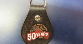 50th keyring
